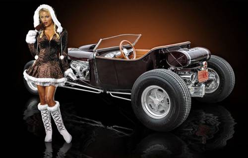 Hot Rod And Rat Rod Girls